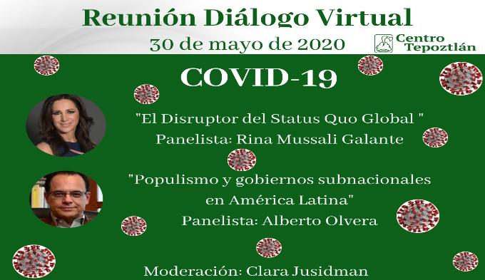 Primer reunión diálogo virtual