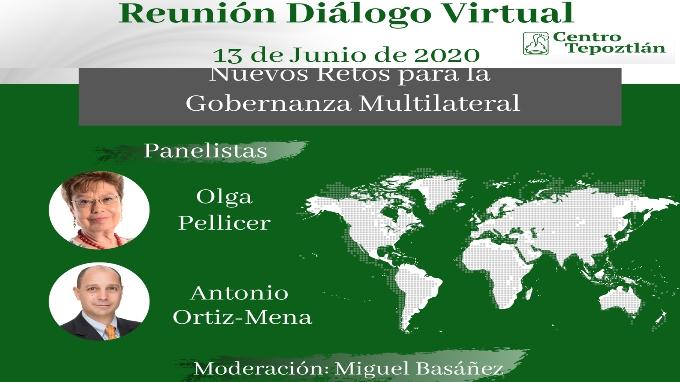 Segunda reunión diálogo virtual